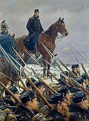 Oberst Max Müller ved Sankelmark Sø den 6. februar 1864