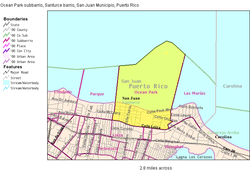 2000 Census map