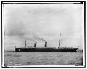 SS St. Paul (1895) under steam
