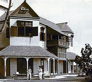 Clunies-Ross family - Oceania House, residence of the Clunies-Ross family
