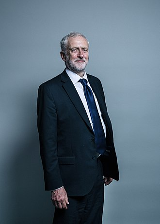 Leader of the Opposition (United Kingdom) - Image: Official portrait of Jeremy Corbyn