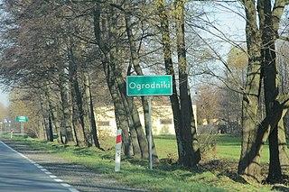Ogrodniki, Węgrów County Village in Masovian, Poland