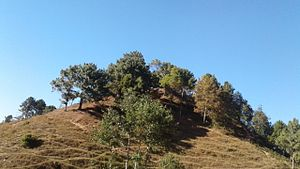 Okhaldhunga District - Okhaldhunga Bazaar entrance hill
