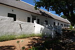 The building which, after so many years, is still called the Old Gaol is second only to the Drostdy, as the oldest and most interesting building in Swellendam. The oldest known drawing of the Drostdy complex drawn by Schumacher in 1776, shows the gaol alr Type of site: Gaol.