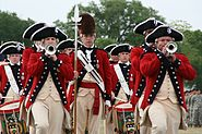 Old Guard Fife and Drum Corps at Fort Myer 2008-04-23