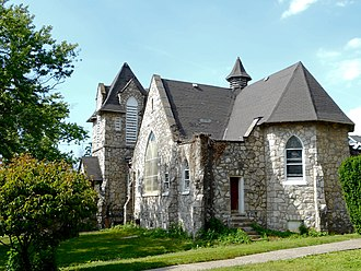 Sharon Hill, Pennsylvania - The old Holy Spirt Catholic Church, which was replaced in 1960