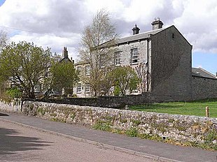 Old courthouse at Kirkwhelpington