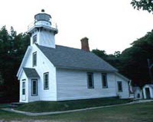 Mission Point Light - Another view of Mission Point Lighthouse