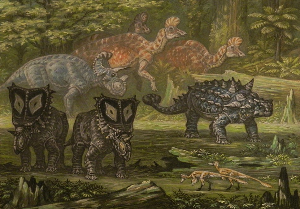 Oldman formation herbivores