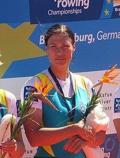 Olena Buryak Ukrainian rower