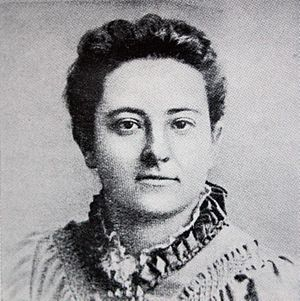 Olive Schreiner - Olive Schreiner in 1889 at Menton, France