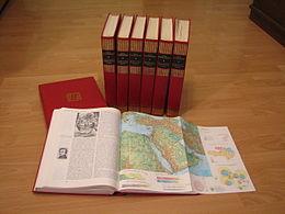 Encyclopédie papier en plusieurs volumes