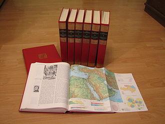 Miroslav Krleža Institute of Lexicography - Image: Opca enciklopedija JLZ