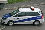 Opel Zafira Flughafen München Security, Munich (9299547622).jpg