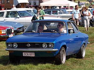 Opel Manta - Image: Opel belgian