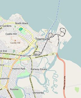 Open Street Map of Ross Island, Townsville, 2016.JPG