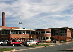 Orange County High School in Orange, Virginia