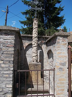 Orban cross. Listed ID 7326. Early Baroque, 17th cent. - 54 Bogdányi Rd., Szentendre.jpg