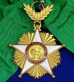 Order of the Lion grand cross badge (Senegal) - Tallinn Museum of Orders.jpg