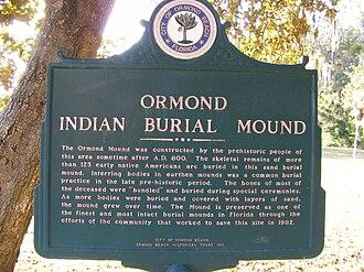 Ormond Mound - Image: Ormond Mound 0935