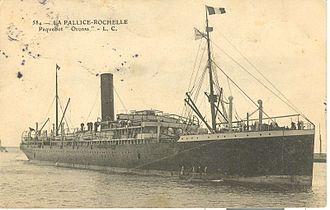 Pacific Steam Navigation Company - Image: Oronsa