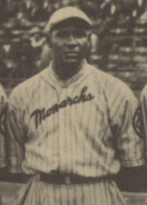 Oscar Johnson (baseball) - Johnson at the 1924 Colored World Series.