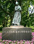 Oslo, statue of Camilla Collett in Oslo (7) BRIGHTER.jpg