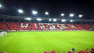 Stadion Widzewa - Image: Otwarcie stadionu Widzewa (05)