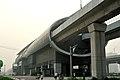 Outside Changyang station.jpg