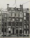 overzicht gevel grachtenhuis - amsterdam - 20319358 - rce