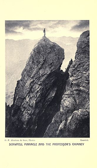 George and Ashley Abraham - Photograph from Jones's book, Rock-climbing in the English Lake District