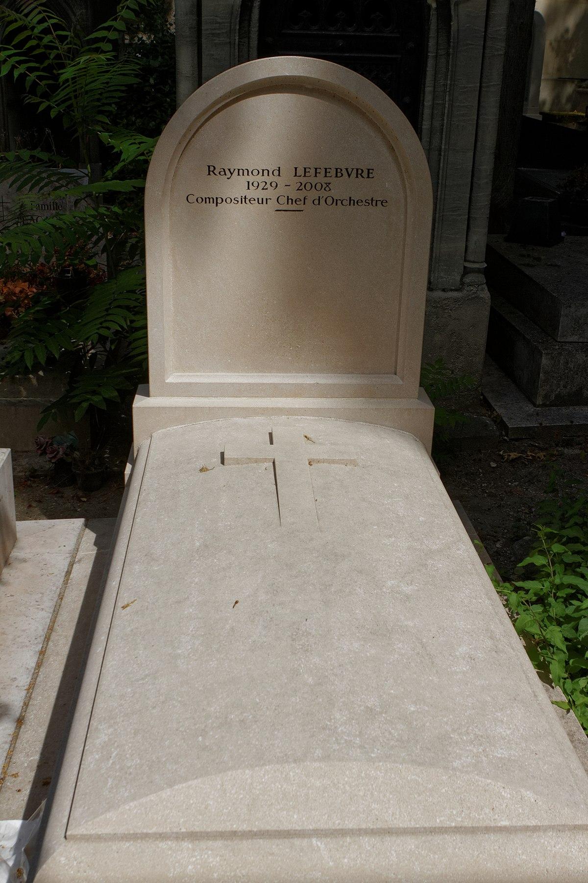 Raymond lefebvre compositeur wikip dia for Div p