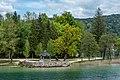Pörtschach am Wörther See Halbinsel Landspitz Aussichtspunkt 06052019 6734.jpg