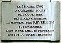 P1060945 Paris XI rue de Montreuil n°31 plaque n°1 rwk.JPG