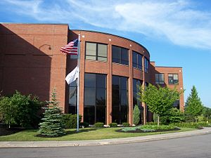 PAETEC Holding Corp. - Former headquarters in Perinton, New York, now a Windstream regional office