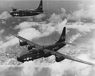 VP-23 - VP-23 PB4Ys over Miami in 1949