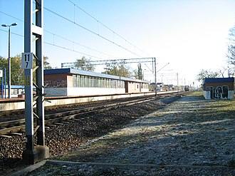 Warszawa Rembertów railway station - Image: PKP Warsaw Rembertow
