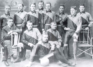 Aalto University Sports Club - Image: PUS champions 1909