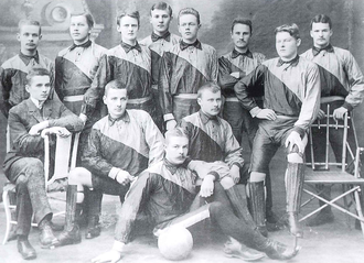 Aalto University Sports Club - Image: PUS champions 1909
