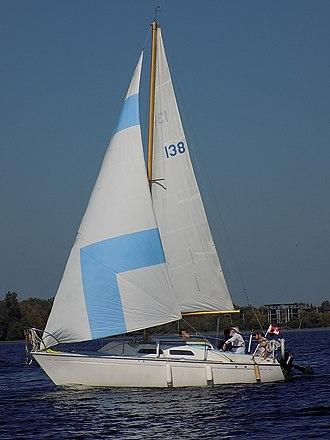 Paceship PY 23 - Image: Paceship PY 23 sailboat Second Wind 1220