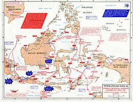 Description de l'image Pacific War - Dutch East Indies 1941-42 - Map.jpg.