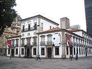 Paço Imperial, 18th century palace that served as seat for the colonial government, King John IV of Portugal and the two Emperors of Brazil.