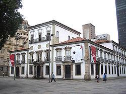 El Paço Imperial, palacio colonial del siglo XVIII en Rio de Janeiro, usado como sede administrativa por Juan VI de Portugal y luego por Pedro I de Brasil.