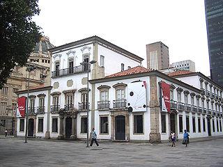Paço Imperial building in Rio de Janeiro