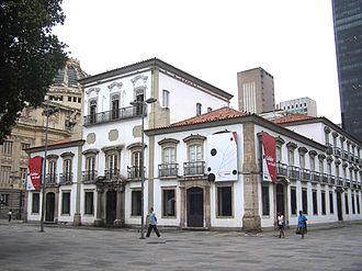 Paço Imperial - Main façade of the Paço Imperial