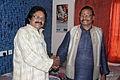 Padma Vibhushan Raghunath Mohapatra with Odia Bhajan Maestro Arabinda Muduli.jpg