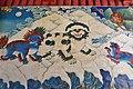 Painting in the entrance of Tashilhunpo Monastery, Shigatse, Tibet (2).jpg