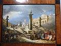 Pal Braschi - Roma giacobina, altare patrio in p za s Pietro x la festa della Federazione (Felice Giani 1798) P1090648.JPG