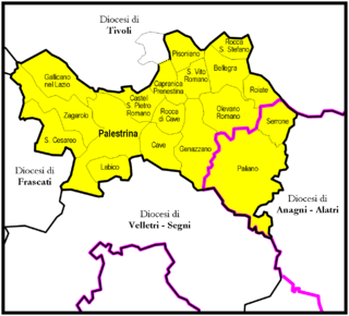 Roman Catholic Suburbicarian Diocese of Palestrina suburbicarian diocese