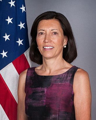 Representative of the United States to the European Office of the United Nations - Pamela Hamamoto, last U.S. Ambassador to the European Office of the U.N.; position currently vacant